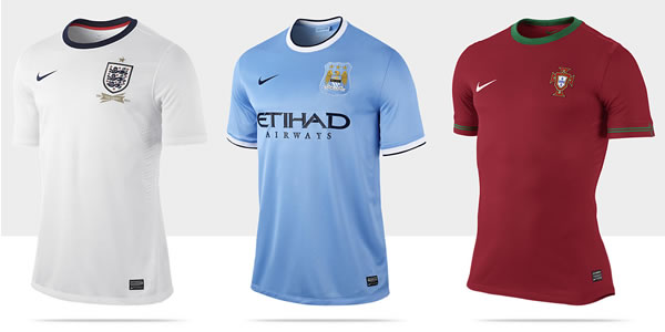 new concept 79080 570b5 The 2013/14 Shirt Collection by Nike The Football Blog