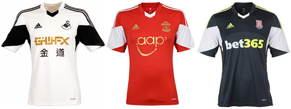 ... West Ham United. Shown above are the Swansea City home eace07109